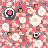 Abstract fancy circular illustration design Royalty Free Stock Images