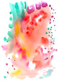 Abstract fancy watercolor background Royalty Free Stock Image
