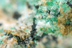 Abstract Fantastic background from a Crystal mineral stock photography