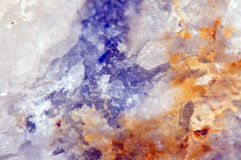 Abstract  fantastic background, magic of a stone, crystal Royalty Free Stock Photos