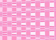 Abstract fantastic chessboard pink wallpaper. Stock Photo