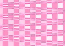 Abstract fantastisch schaakbord roze behang Stock Foto