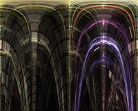 Abstract, fantasy, graphic motion chaos concept design energy background digital, fractal, power science. Abstract, fantasy, background digital fractal, power stock illustration