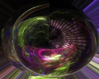 Abstract, fantasy design modern science glow rendering, light design background digital, fractal, power science. Abstract, fantasy, background digital fractal royalty free illustration