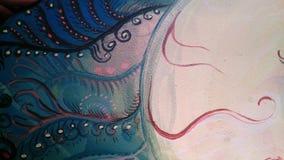 Abstract. Fantasy color abstract Royalty Free Stock Photo