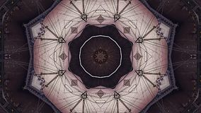 Abstract Fantasy Kaleidoscopic Looping Video Background stock video