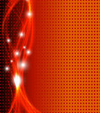 Abstract fantasy orange background Stock Image