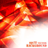 Abstract fantasy red background Royalty Free Stock Image