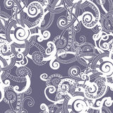 Abstract fantasy seamless pattern Royalty Free Stock Image