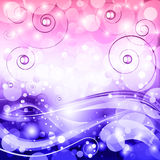Abstract fantasy vector background. Royalty Free Stock Images