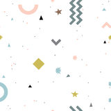 Abstract fashion seamless pattern. Royalty Free Stock Image