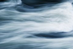 Abstract of Fast Moving Water Stock Photography