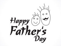 Abstract father day background Royalty Free Stock Photography