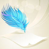 Abstract Feather Art Pattern Background Royalty Free Stock Photo