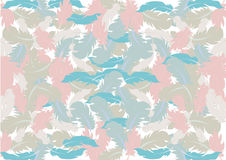 Abstract feather background; pastel color pattern design Stock Photos