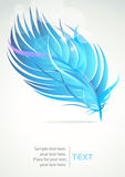 Abstract Feather Pattern Background Stock Images