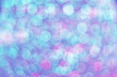 Abstract-feestelijk-bokeh-licht-achtergrond Royalty-vrije Stock Foto's