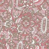 Abstract feestelijk kleurrijk mandala vector etnisch stammenpatroon stock illustratie
