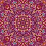 Abstract feestelijk kleurrijk mandala vector etnisch stammenpatroon vector illustratie