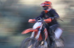 Abstract Female Racer Royalty Free Stock Images