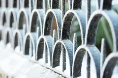 Abstract fence Stock Image