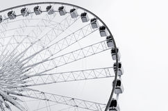 Abstract of ferris wheel Royalty Free Stock Images