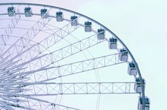 Abstract of ferris wheel Royalty Free Stock Photos