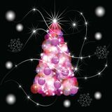 The Abstract festive background. Stock Photos