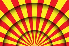 Abstract festive background. Circus stage lines and spotlights Royalty Free Stock Image