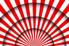 Abstract festive background. Circus stage white lines and spotlights Royalty Free Stock Photography