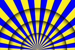 Abstract festive background. Circus stage white lines and spotlights Stock Image