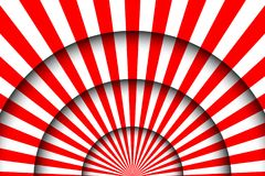 Abstract festive background. Circus stage white lines and spotlights Stock Photos