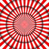 Abstract festive background. Circus stage white lines and spotlights Stock Photo