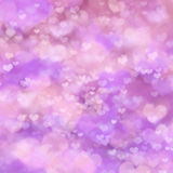 Abstract festive background with pink heart Stock Image