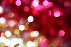 Abstract festive bright multicolored magic background with bokeh Stock Image