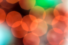 Abstract festive colorful bokeh backdrop Stock Photography