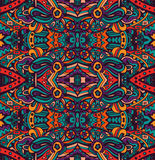 Abstract festive colorful ethnic tribal pattern Royalty Free Stock Photo