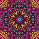 Abstract festive colorful floral mandala vector ethnic boho pattern. Tribal indian ethnic seamless design. Festive colorful floral mandala vector ethnic boho vector illustration