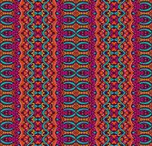 Abstract festive colorful geometric tribal pattern. Ethnic tribal festive pattern for fabric. Abstract geometric colorful seamless pattern ornamental Royalty Free Stock Photography