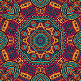 Abstract festive colorful seamless patten. Abstract Tribal vintage ethnic seamless pattern ornamental Royalty Free Stock Image