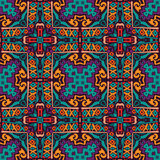 Abstract festive colorful vector ethnic pattern. Abstract Tribal vintage ethnic seamless pattern ornamental Stock Photos