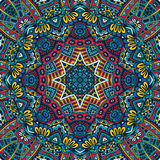 Abstract Festive geometric mandala pattern Stock Photography