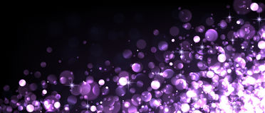 Abstract festive lilac luminous background. Royalty Free Stock Photography
