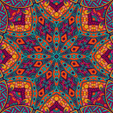 Abstract Festive Mandala Ethnic Tribal Pattern Royalty Free Stock Photos