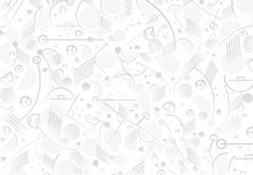 EURO 2016 Soccer. EURO 2016 Championship Soccer. UEFA Abstract festive pattern, white and grey background color with different Sport football shapes and lines Stock Photos