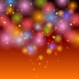 Abstract festive shining background Stock Images