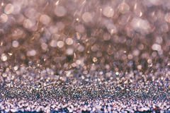 Abstract festive shiny blurry bokeh background Royalty Free Stock Photography