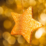 Abstract festive star Stock Image