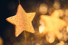 Abstract festive stars background Royalty Free Stock Image