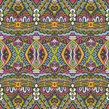 Abstract festive  vector ethnic tribal pattern Stock Photography
